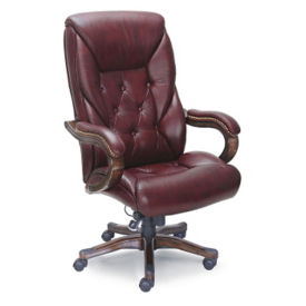 Kingston Traditional Faux Leather Standard Executive Chair, C80442