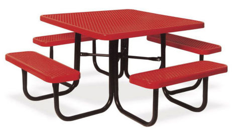 Portable Outdoor Square Table, T10875