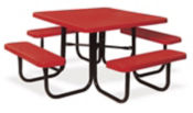 Portable Outdoor Square Table, T10878