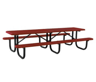 Portable Outdoor Rectangular 12' Table, T10886