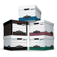 Pack of 12 Storage Boxes, B34526