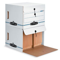 Pack of 12 End Tab Files with Drop Front Lids, B34530