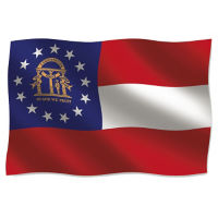 State Flag 3' Wide x 5' Long, D90156