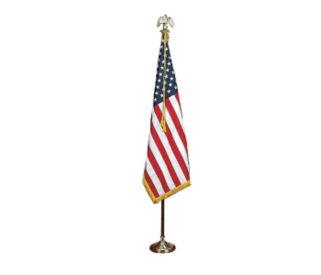 US Presentation Flag Set 3' x 5' with 7' Pole, V20631