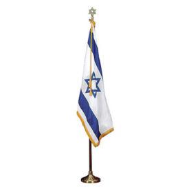 Israel Flag Set with 3' x 5' Flag, V20640