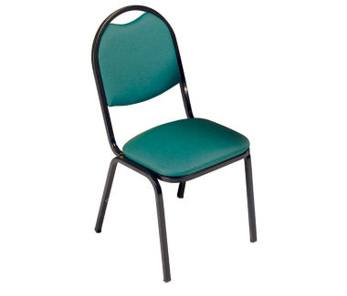 Round Back Stack Chair, C60182