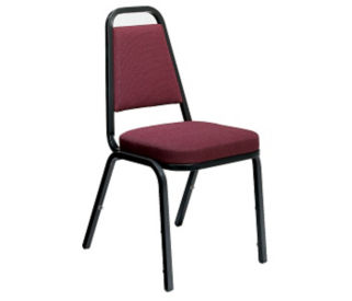 Stacking Chair Upholstered, C60183