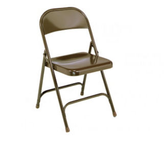 Folding Chair with U-Braces, C50024
