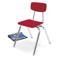 "Virco 3000 14"" H Stack Chair for First Grade, D57059"