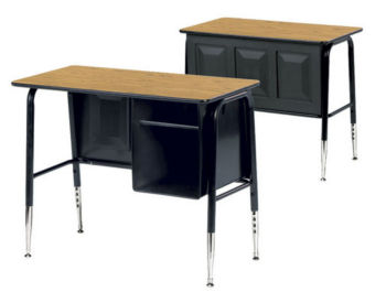 Virco 765 Junior Executive Student Desk, D30069
