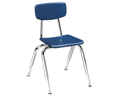 "Virco 3000 16"" Stack Chair for Second to Fourth Grades, D57060"