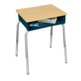 Open Front Desk with Adjustable Legs, D57294
