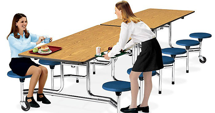 How to Clean Your School Cafeteria Furniture