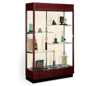 Classically Styled Display Case with Fabric Backing, B32116