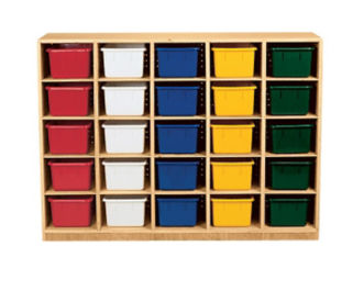 25 Opening Cubby Without Trays, D59011