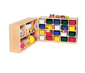 20 Opening Cubby Without Trays, D59013