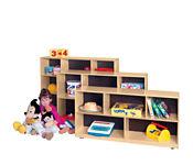 """Cubbie Storage Cabinet 48"""" Wide x 12"""" Deep x 30"""" High, P30093"""