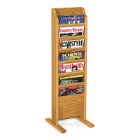 14 Pocket Literature Rack, L40292