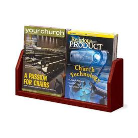 2 Magazine Pocket Literature Rack, L40303