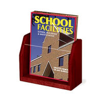1 Magazine Pocket Literature Rack, L40304