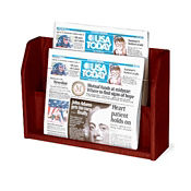 2 Pocket Newspaper Rack, L40308
