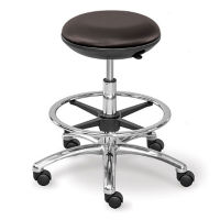 Polyurethane Memory Foam Mid Range Stool with Foot Ring, K10064