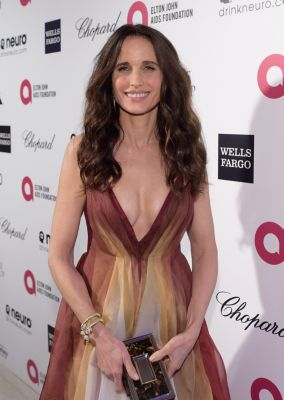 Andie Macdowell in David Yurman Jewelry