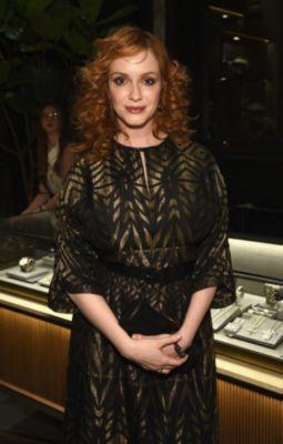 Christina Hendricks in David Yurman Jewelry
