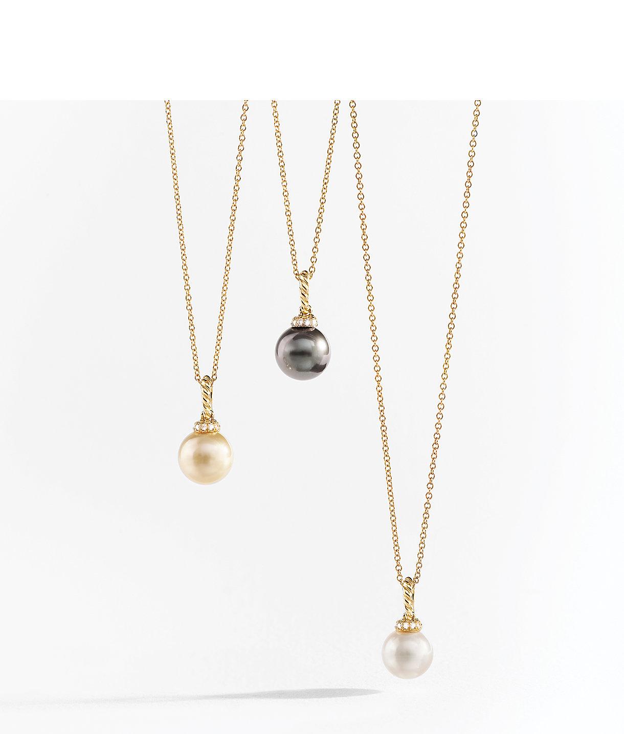 18k黄金Solari珍珠项链