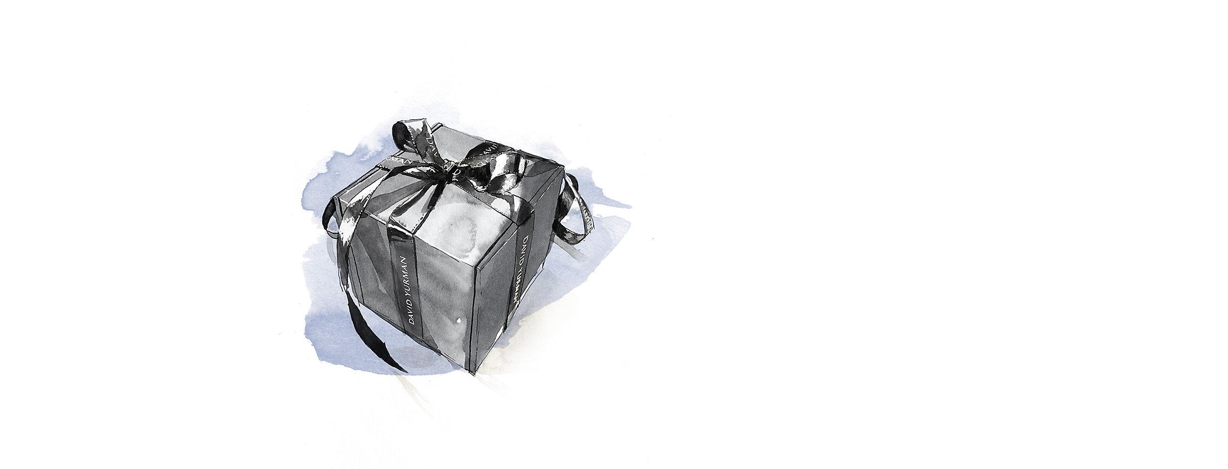 礼品盒的插图