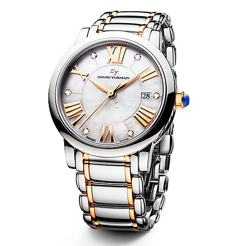 Sterling silver and gold Classic watch