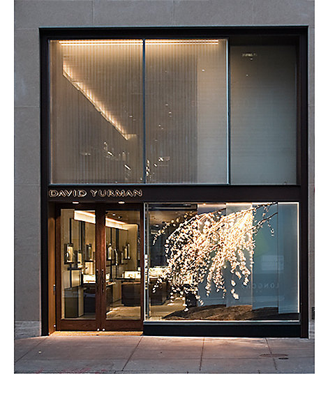 Façade of a David Yurman boutique