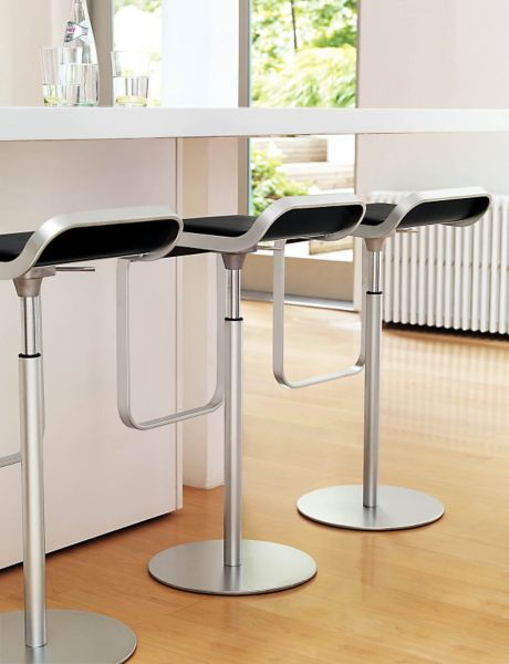 LEM Piston Stool with Leather Seat & LEM Piston Stool with Leather Seat - Design Within Reach islam-shia.org
