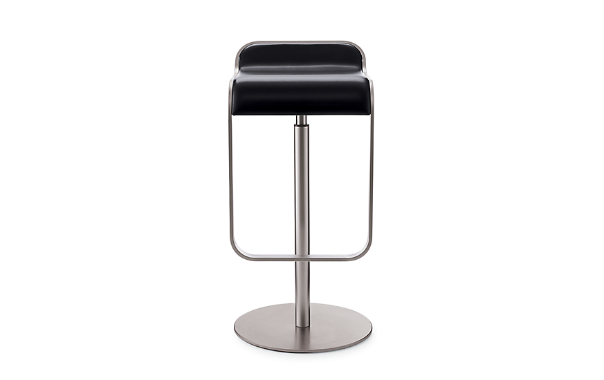 Lem Piston Stool With Leather Seat Design Within Reach