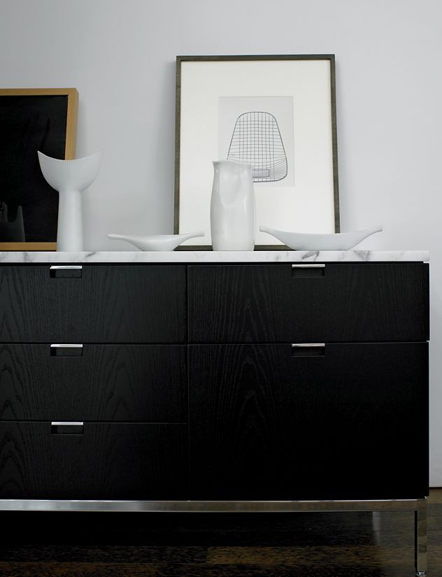 Florence Knoll Four Position Credenza Design Within Reach