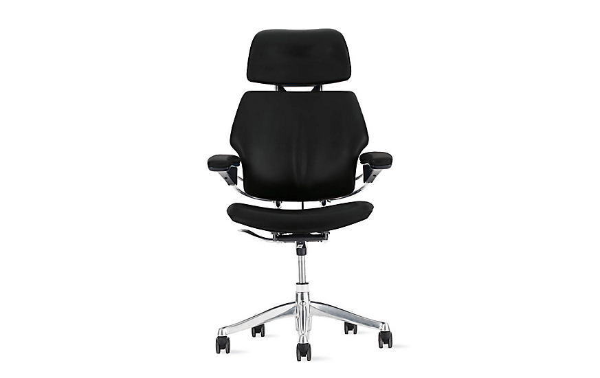 Freedom Task Chair with Headrest Design Within Reach – Humanscale Task Chair