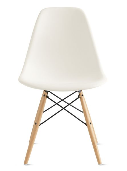 Eames Molded Plastic DowelLeg Side Chair DSW Design Within Reach