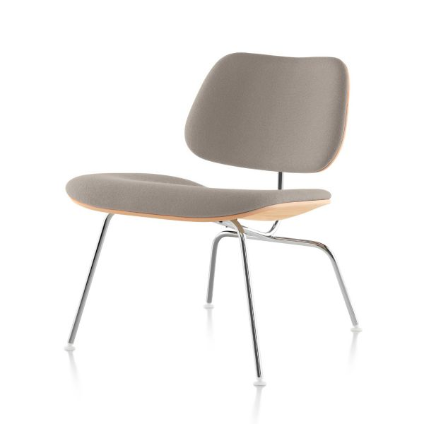 Eames Upholstered Molded Plywood Lounge Chair LCM DWR