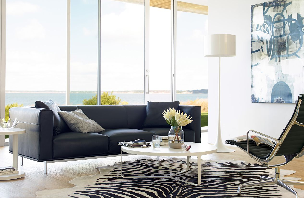 Edelman® Leather Zebra Cowhide Rug