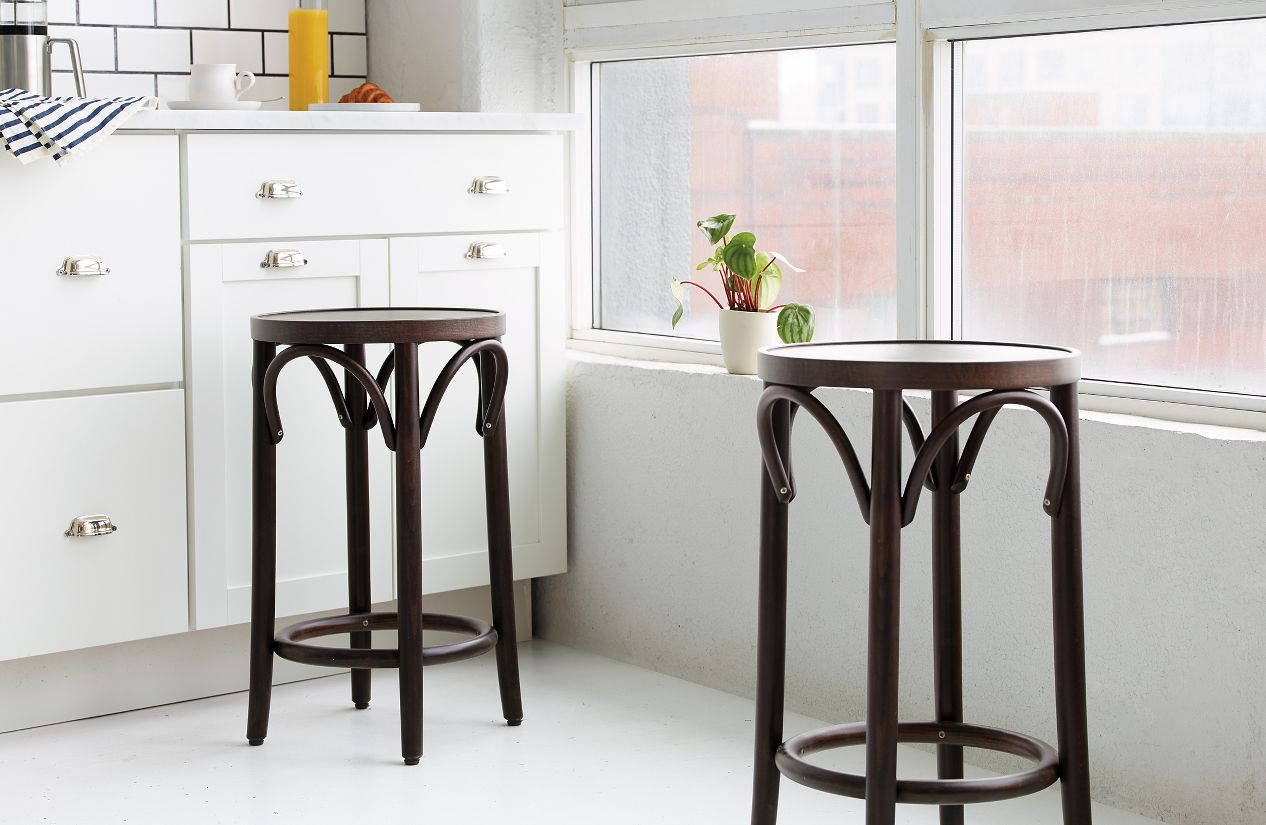 era backless counter stool  design within reach - era backless counter stool