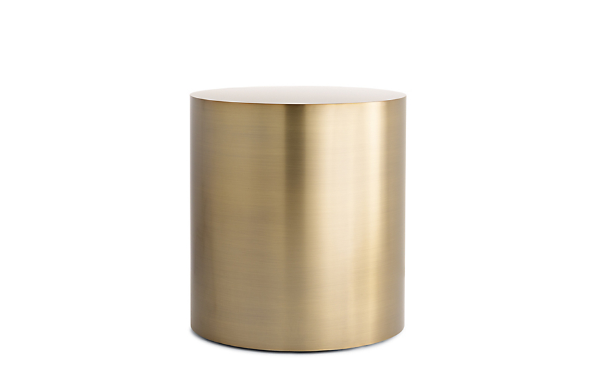Attirant Drum Side Table