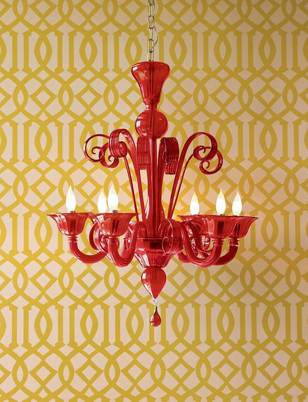 Murano Glass Chandelier Design Within Reach – Red Murano Glass Chandelier