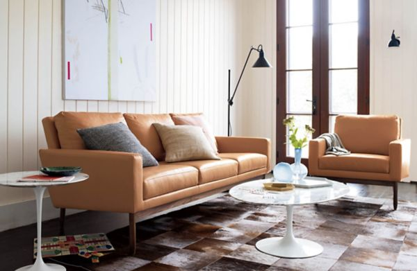 Patch Cowhide Rug Design Within Reach