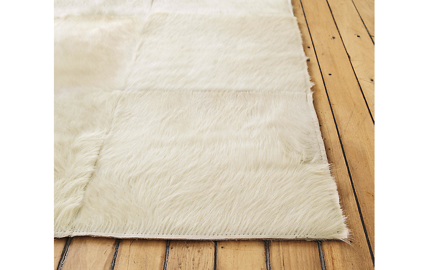 Patch Cowhide Rug