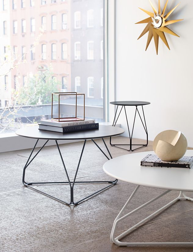 Polygon Wire Table, Small - Herman Miller