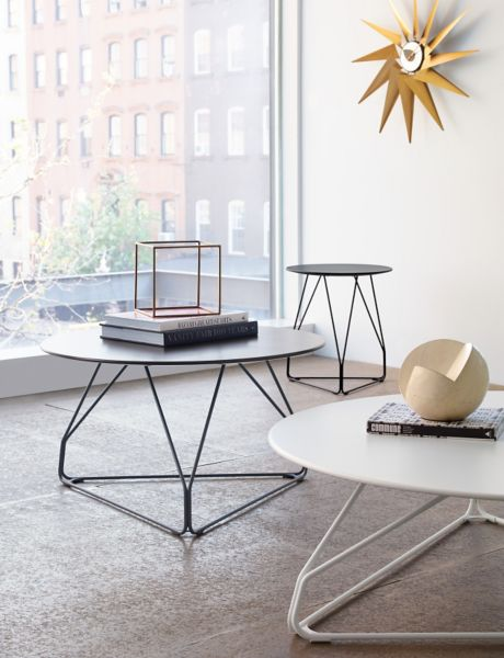 Beau ... Polygon Wire Table, Small