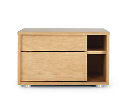 Parallel Bedside Table