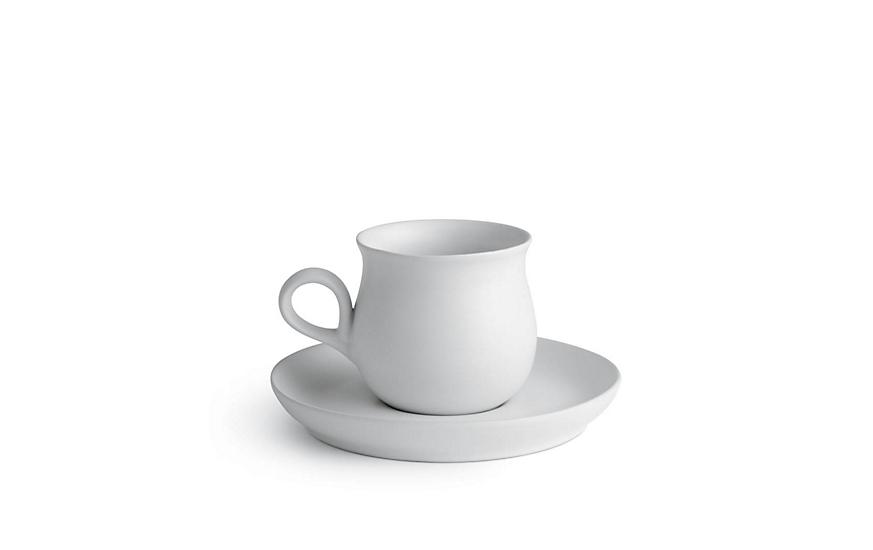 4378c1eb1c012 Eva Zeisel Granit Teacup and Saucer Set - Design Within Reach