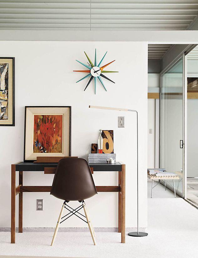 Nelson Sunburst Clock Design Within Reach