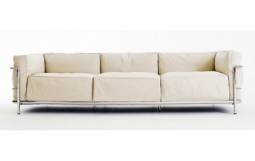 LC3 Grand Modele Three-Seat Sofa